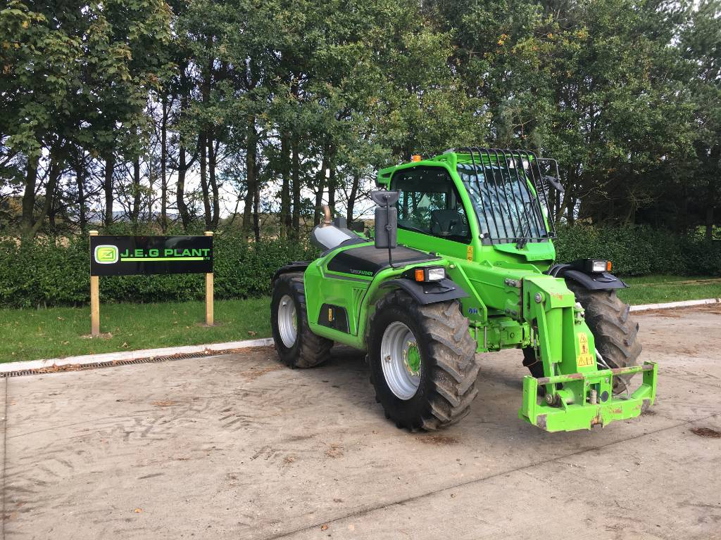 Merlo TF 42.7-156, Telehandlers for agriculture, Agriculture