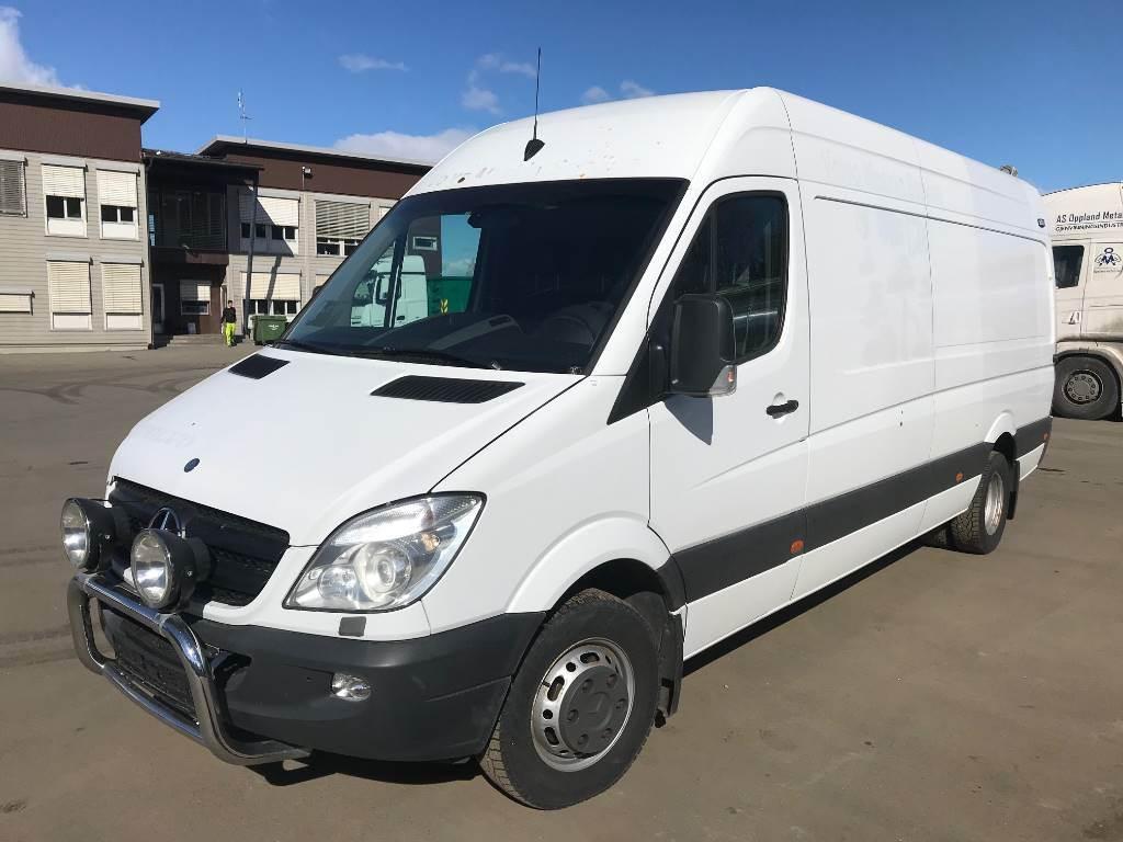 Mercedes-Benz 519 CDI, verksted vogn, Andre varebiler, Transport
