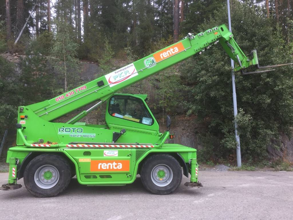 Merlo Roto 40.25MCSS, Telescopic handlers, Construction