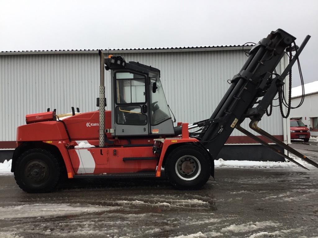 Kalmar DCE150-12, Dieselmotviktstruckar, Materialhantering