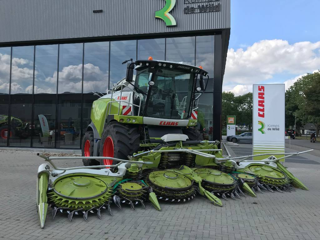 CLAAS ORBIS 750 AC 3T, Forage harvester headers, Agriculture
