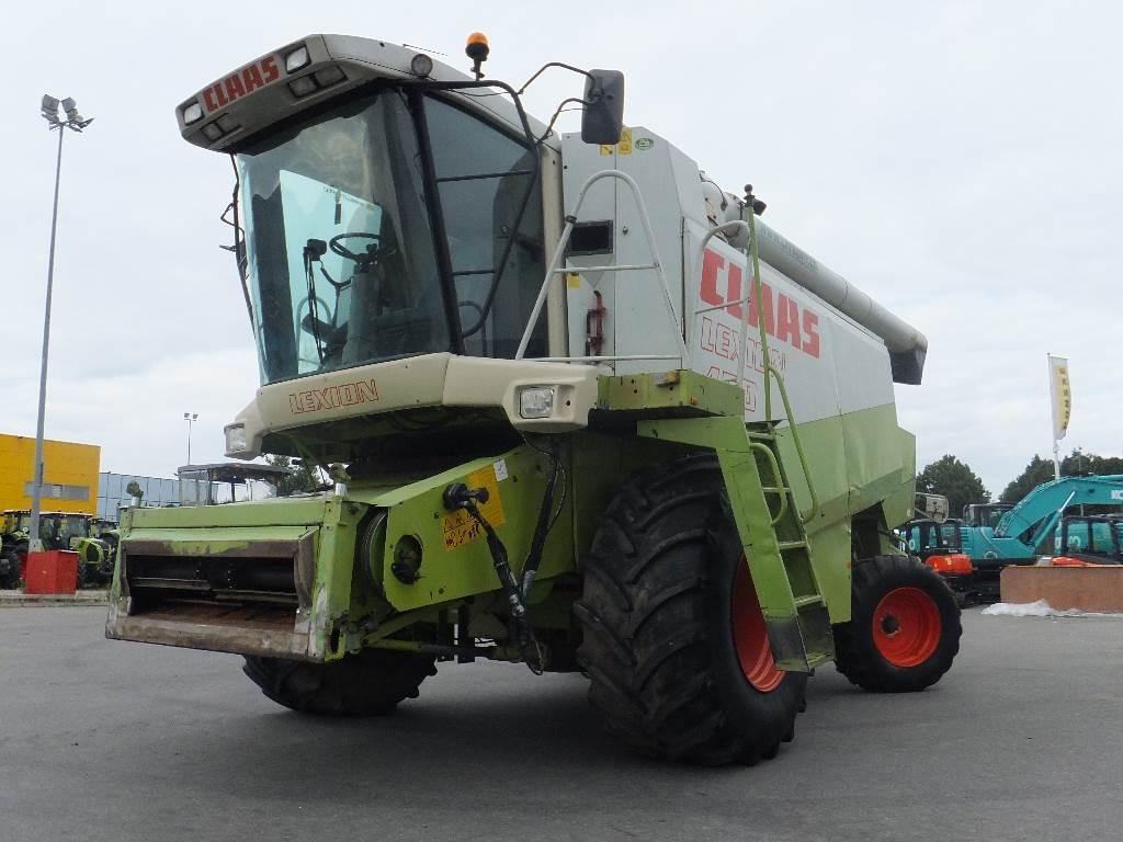 CLAAS Lexion 450, Kombainid, Põllumajandus