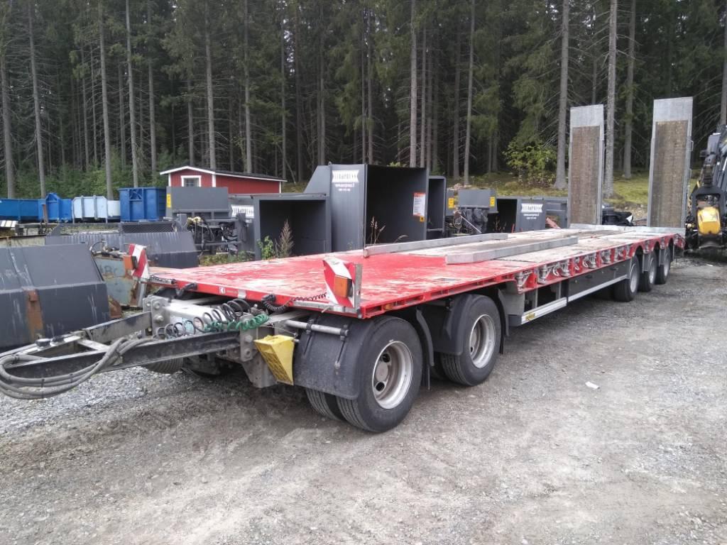 Humbaur HTD 50, Lavaperävaunut, Kuljetuskalusto