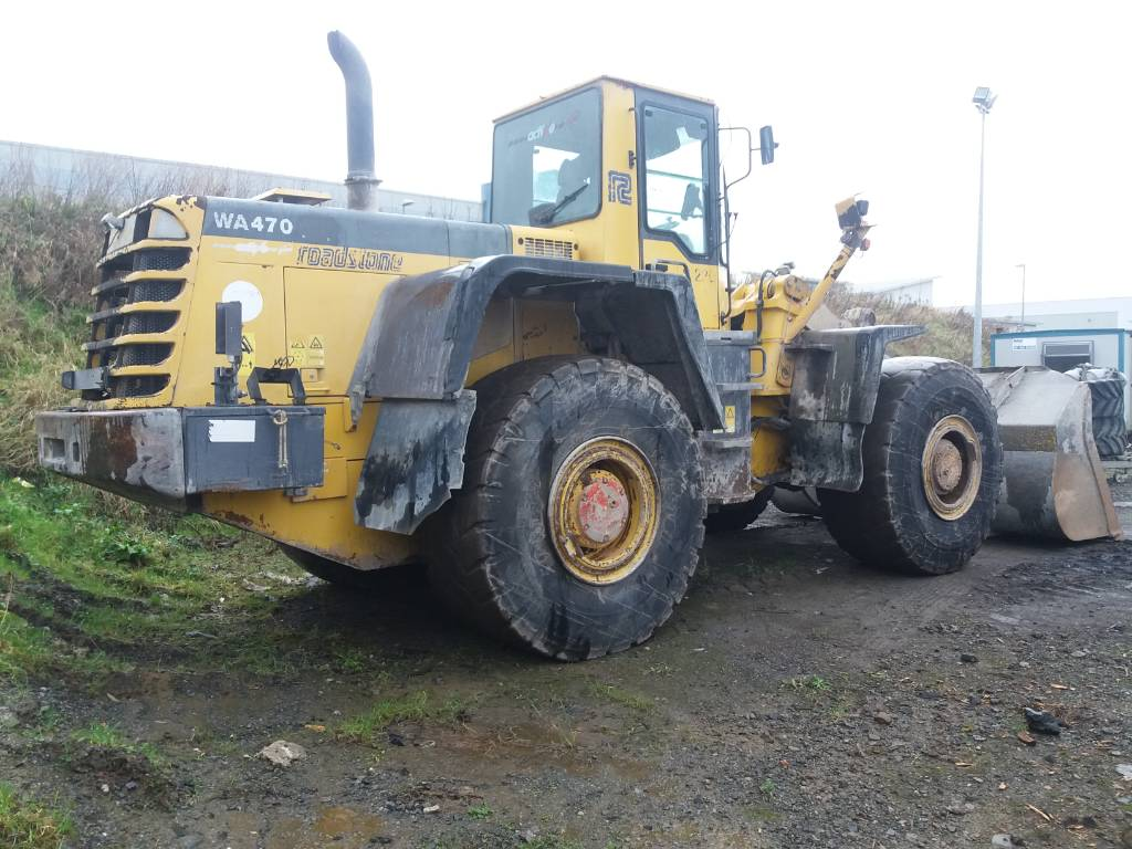 Komatsu WA470-3, Wheel Loaders, Construction Equipment