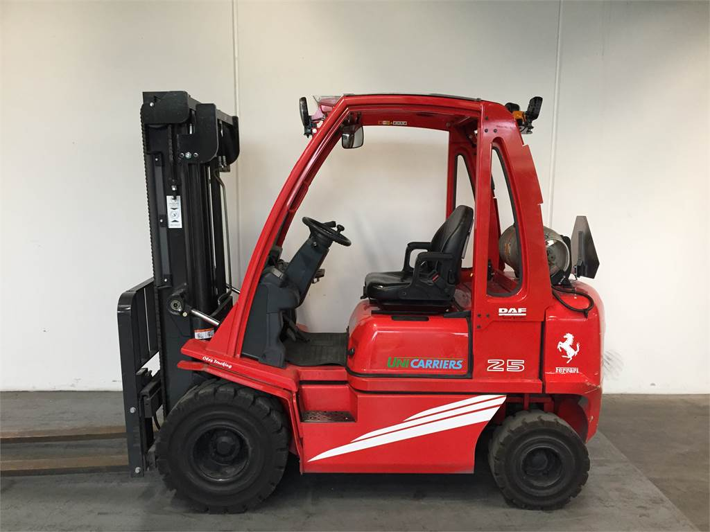 UniCarriers DX25, LPG trucks, Material Handling
