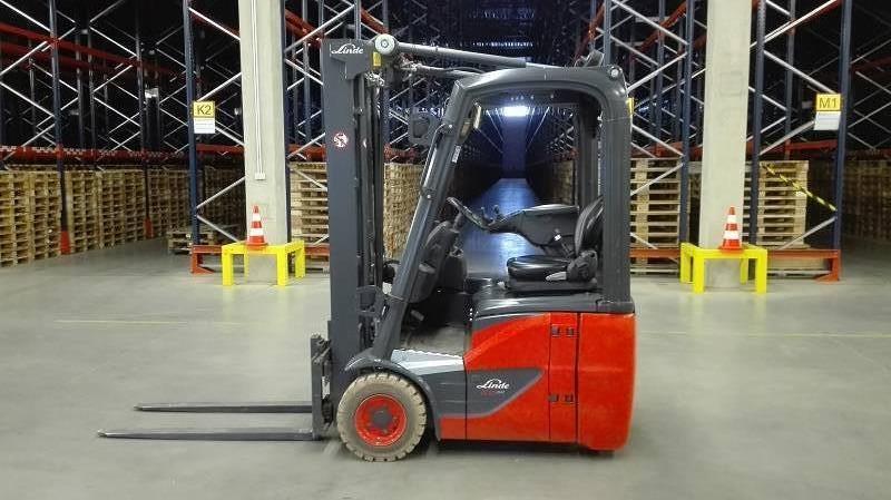 Linde E12/386, Electric forklift trucks, Material Handling
