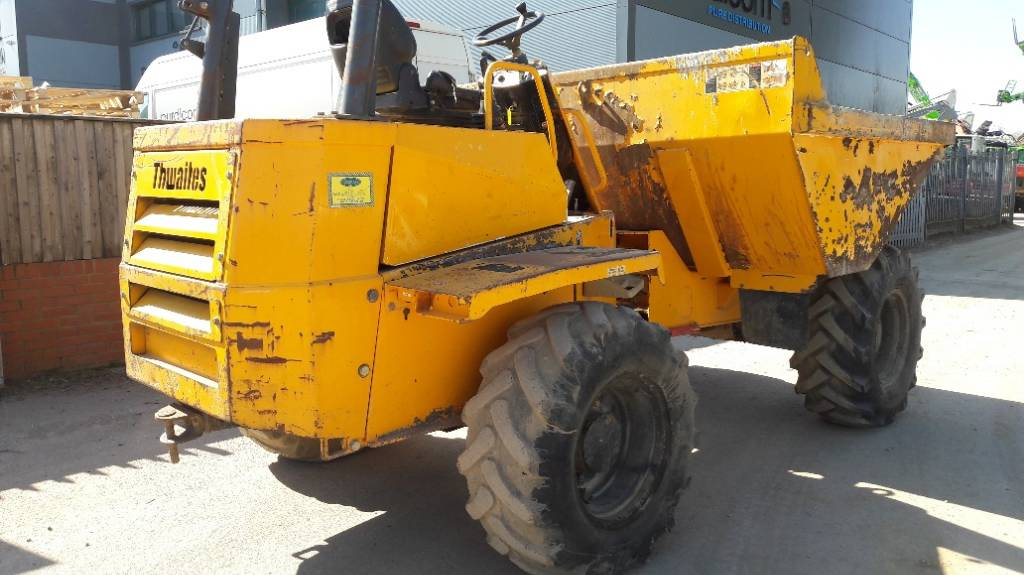Thwaites 6 tonne, Site dumpers, Construction