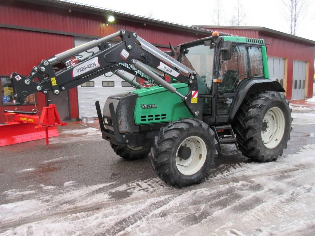 Valtra 6250 Hitech + uusi etukuormain, Traktorit, Maatalous