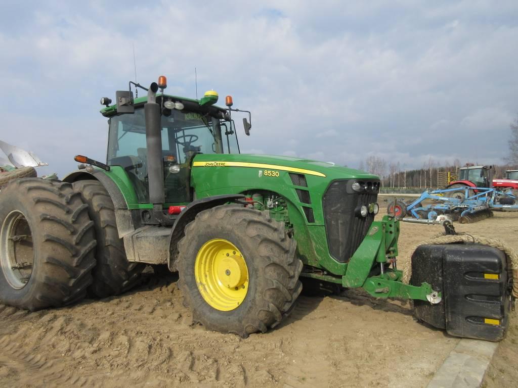 John Deere 8530 AutoPowr, Traktoriai, Žemės ūkis