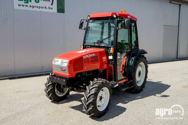 Goldoni Energy 80 4WD, Tractor with synchronous transm.