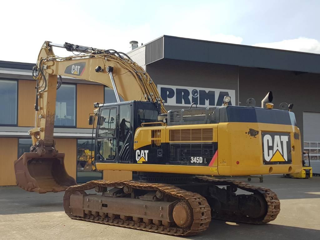 Caterpillar 345 D L, Crawler Excavators, Construction Equipment