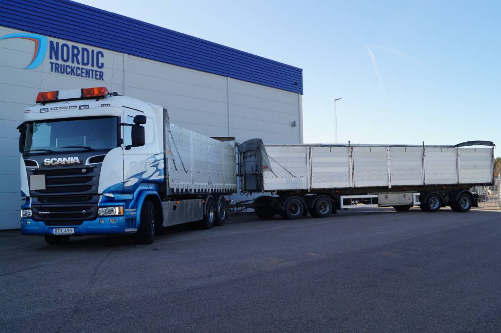Scania R 580, Spannmålsbil, Transportfordon