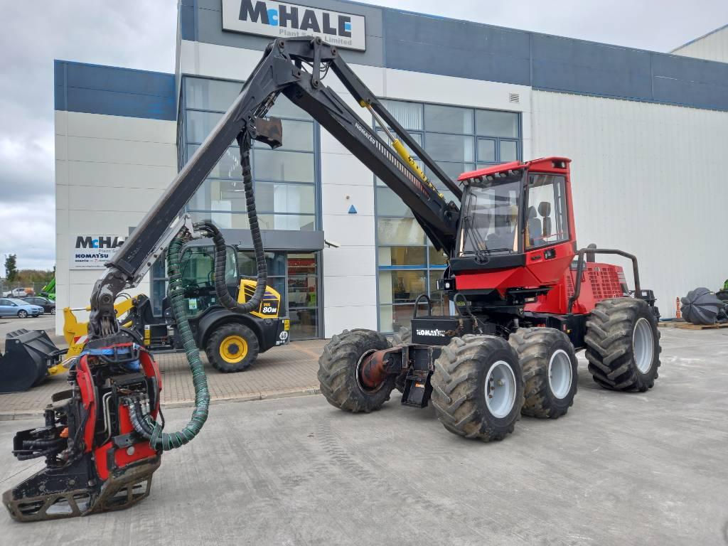 Komatsu 901TX, Harvesters, Forestry Equipment