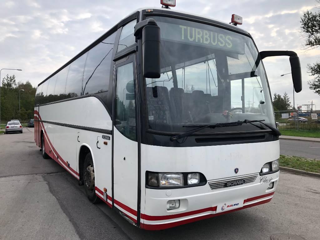 Scania Carrus, Kaugsõidubussid, Transport