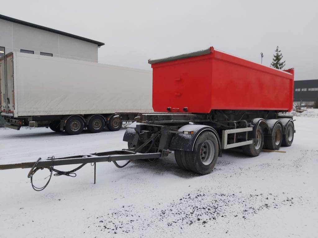 Sisu Polar 8x2 sorakasettiyhdistelmä, Sora- ja kippiautot, Kuljetuskalusto