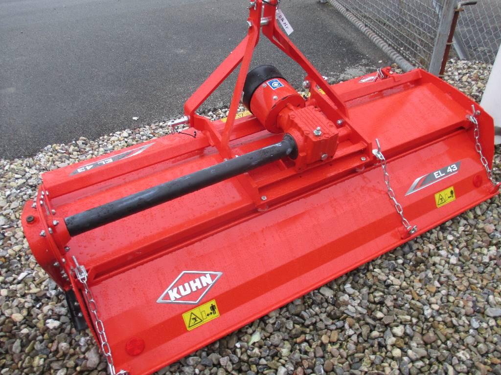 Kuhn EL 43-190 Traktorfræser, Elektriske harver / jordfræsere, Landbrug