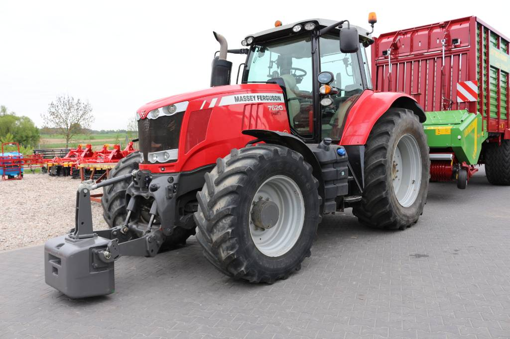 Massey Ferguson 7620 Dyna 6, Traktory, Maszyny rolnicze