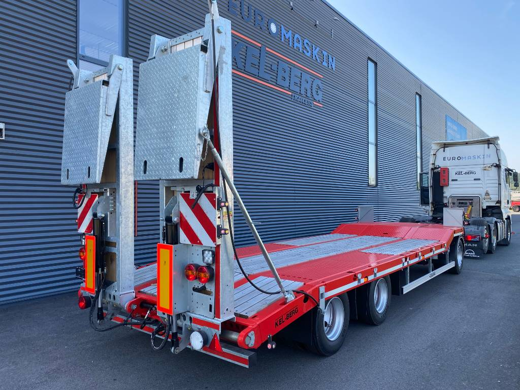 Kel-Berg S100F Maskinslep - PÅ LAGER, Maskinhenger, Transport