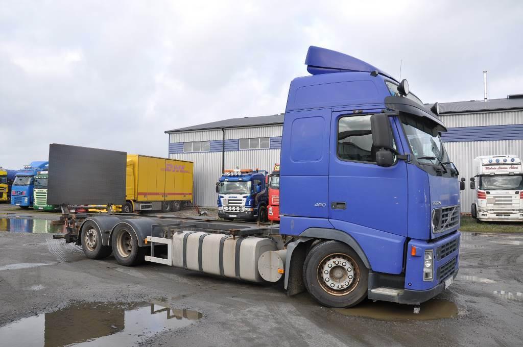 Volvo FH460 6X2, Chassier, Transportfordon
