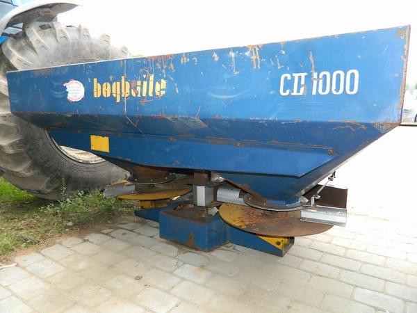 Bogballe CII1000, Minerālmēslu izkliedētāji, Lauksaimniecība