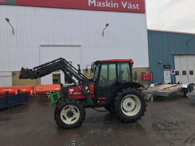 Valmet 465 med lastare, Traktorer, Lantbruk
