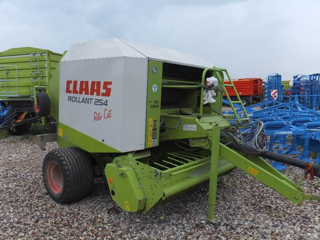 CLAAS Rollant 254 RC, Ritinių presai, Žemės ūkis