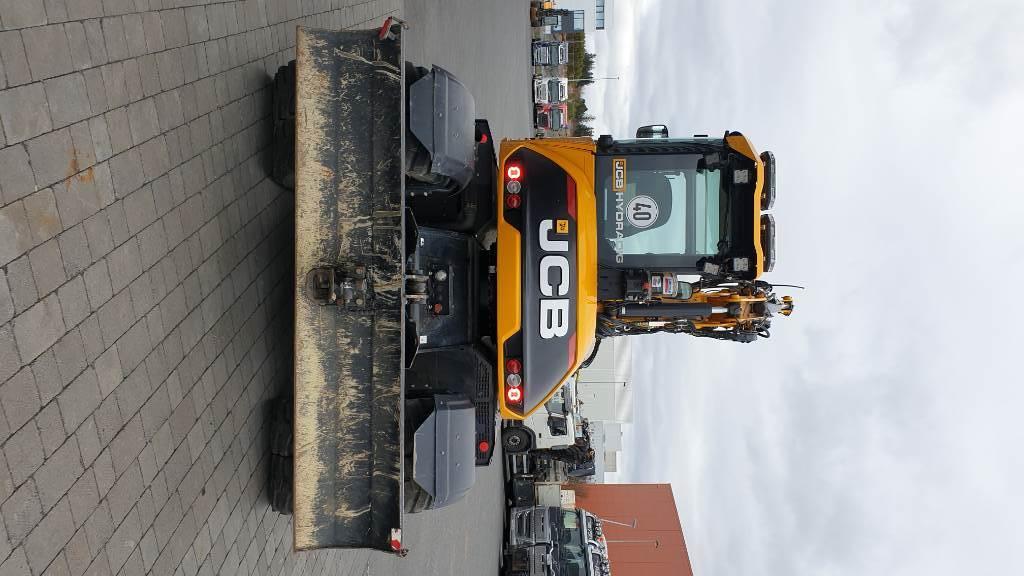 JCB 110W Hydradig, Wheeled Excavators, Construction Equipment