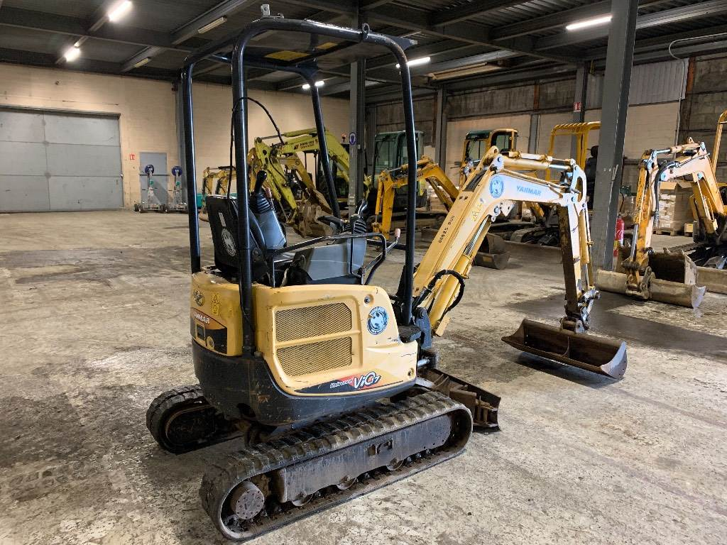 Yanmar VIO 17, Mini excavators < 7t (Mini diggers), Construction