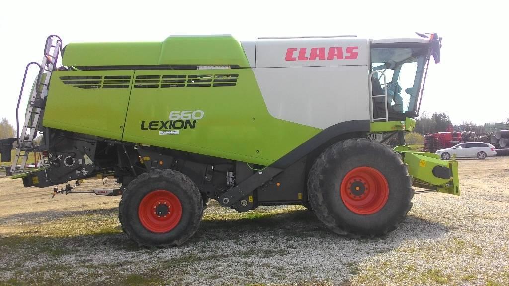 CLAAS Lexion 660, Kombainid, Põllumajandus