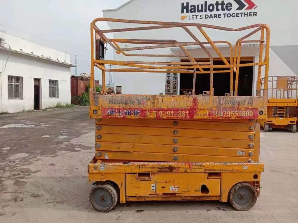 Haulotte COMPACT14, Nacelle ciseaux, Travaux Publics