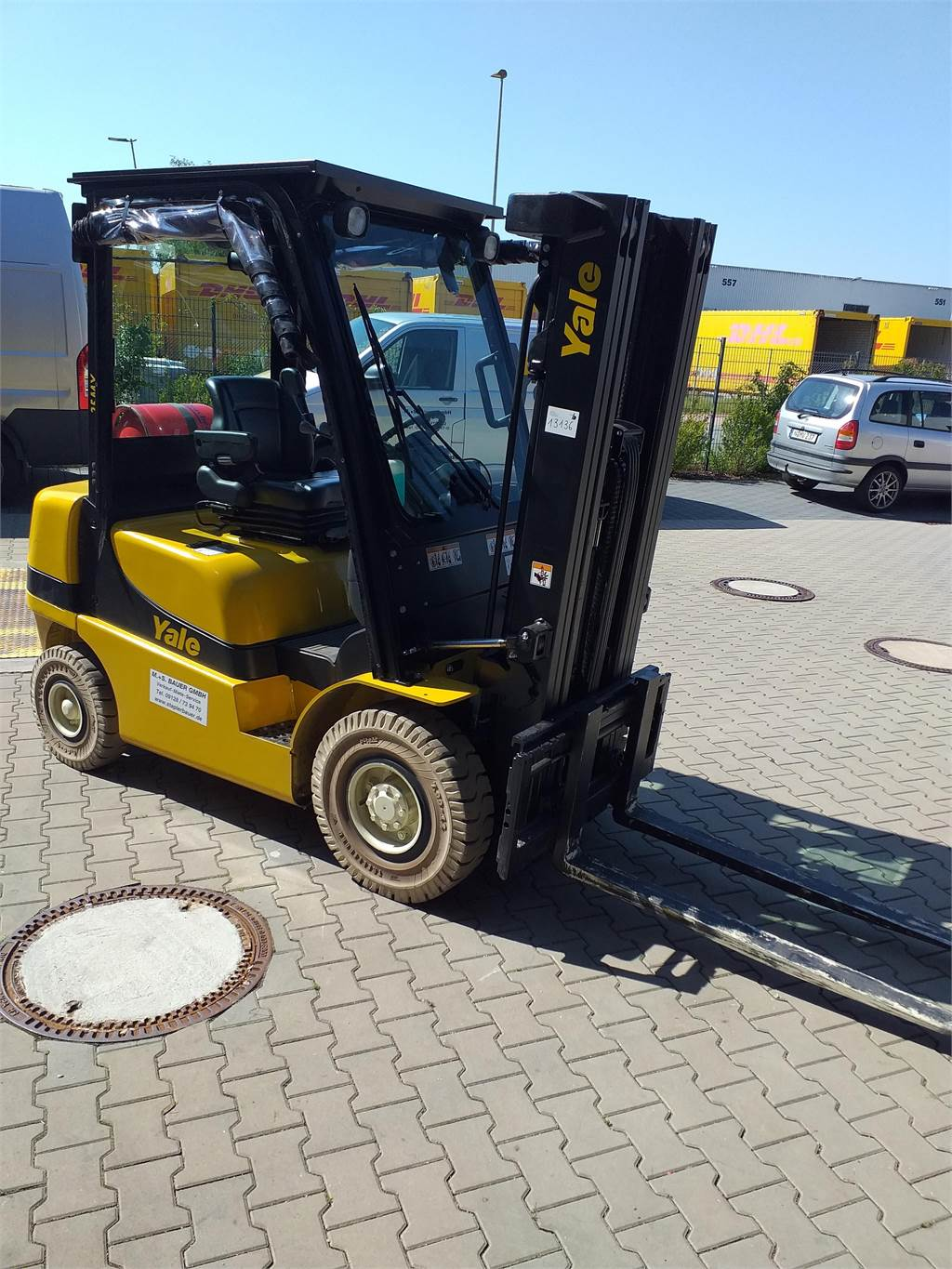 Yale GLP25MX, LPG counterbalance Forklifts, Material Handling