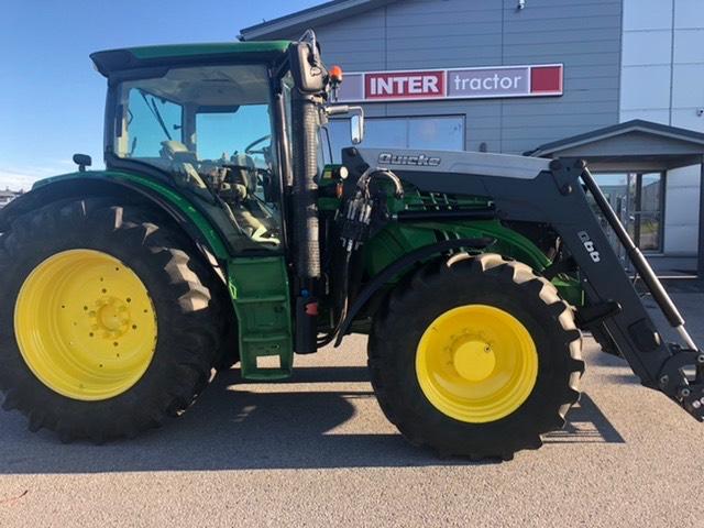 John Deere 6150 R.  aj. vain 2150h, Traktorit, Maatalous