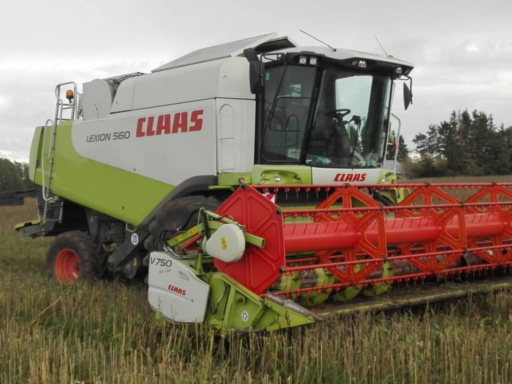 CLAAS Lexion 560, Kombainid, Põllumajandus