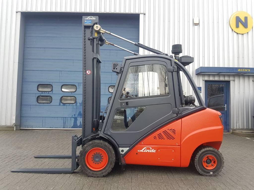 Linde H35D - verkocht, Diesel heftrucks, Laden en lossen