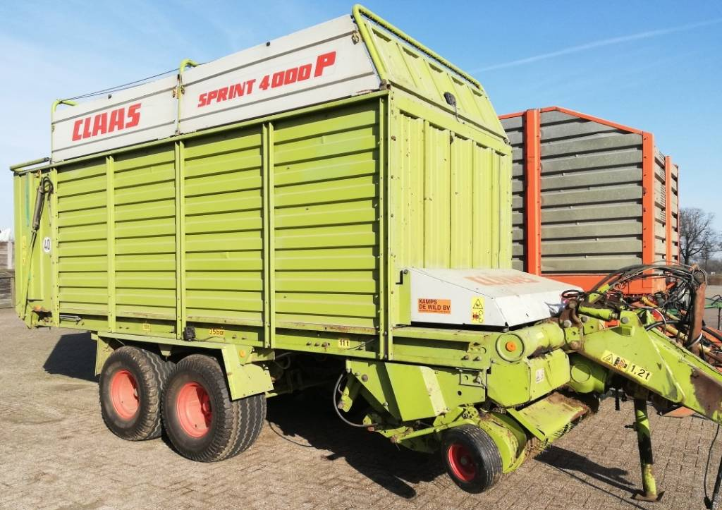 CLAAS Sprint 4000 P, Speciality Trailers, Agriculture