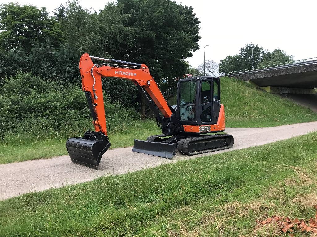 Hitachi ZX 65 US B-5, Minigraafmachines < 7t, Bouw