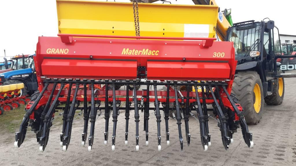 Mattermacc Grano 300, Siewniki, Maszyny rolnicze