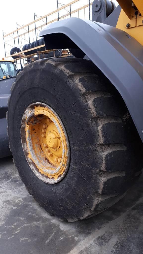 Volvo L 110 H, Cargadoras sobre ruedas, Construcción