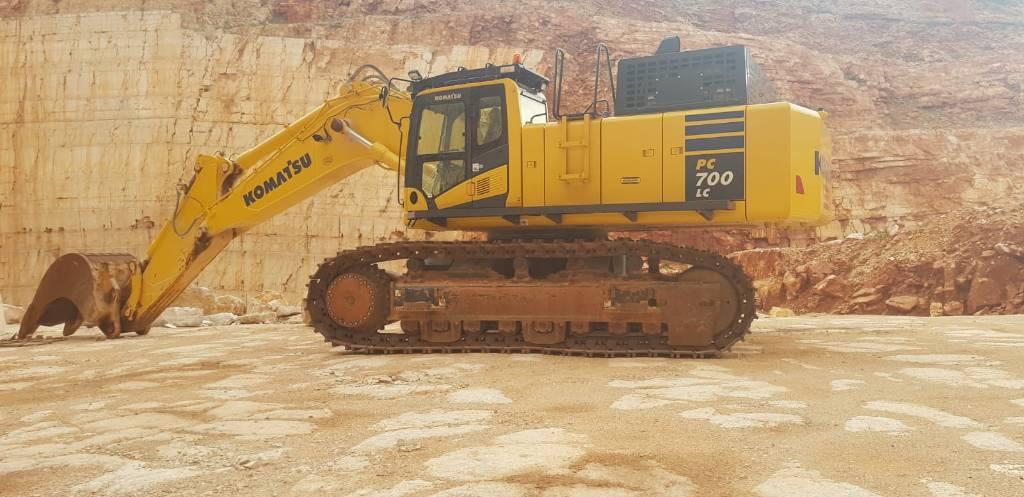 Komatsu PC700, Crawler Excavators, Construction Equipment