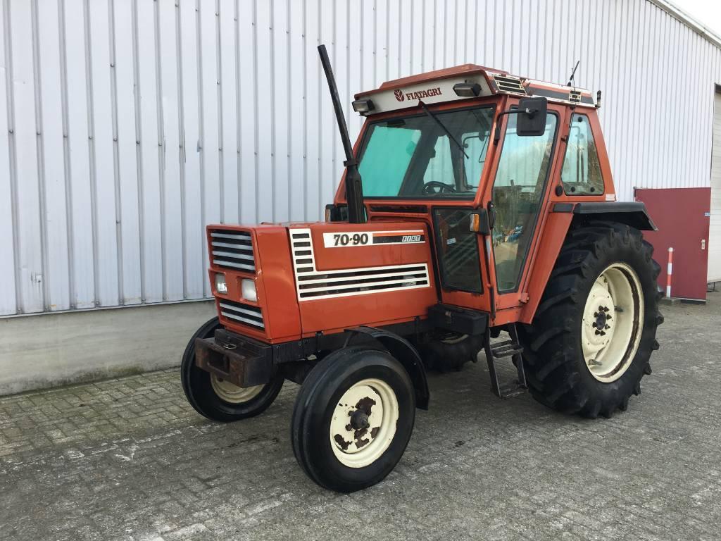 Fiat 70-90, Tractoren, Landbouw