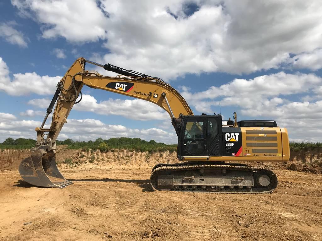 Caterpillar 336 FL XE, Crawler excavators, Construction