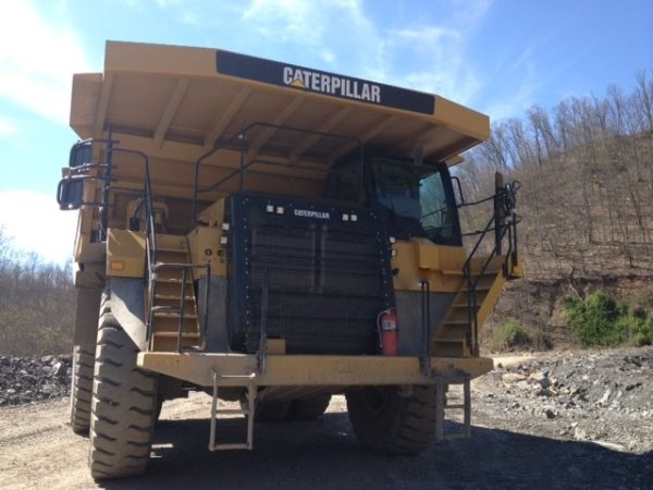 Caterpillar 777F H308, Rigid dump trucks, Construction Equipment