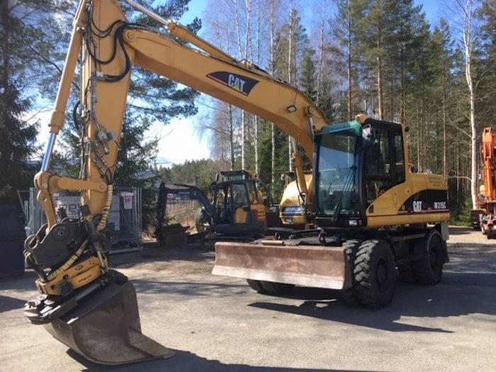 Caterpillar M315C, Wheeled Excavators, Construction Equipment