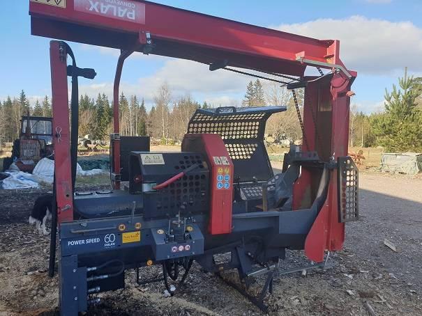 Palax KS 40, Vedklyvar och vedkapar, Skogsmaskiner