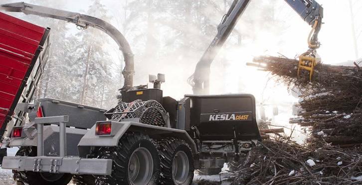 Kesla C 645 C, Rębaki, Maszyny leśne