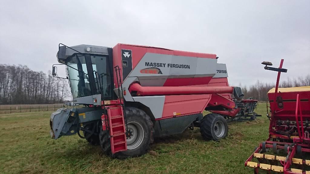 Massey Ferguson 7256 4WD, Kombainid, Põllumajandus