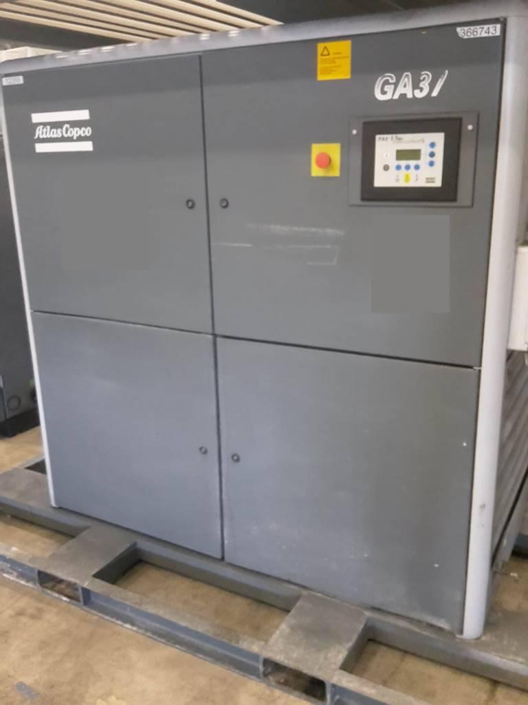 Atlas Copco GA 37 FF, Compressors, Industrial