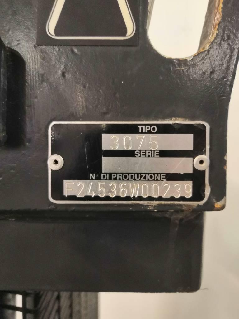 OM Pimespo CTX14, Ajettavat pinoamisvaunut, Materiaalinkäsittely