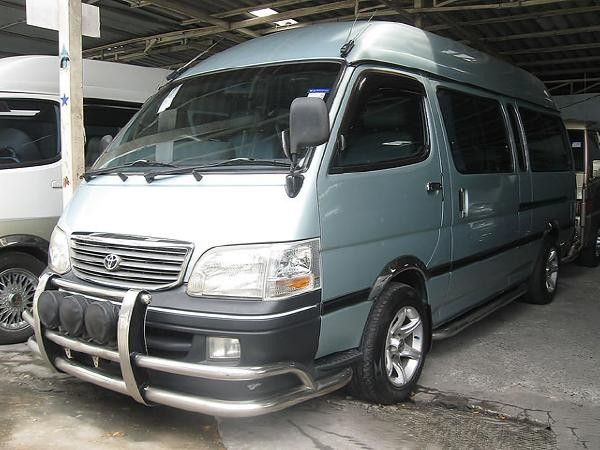 Used Toyota Hiace Commuter 2 5 D4d Panel Vans Year 2006