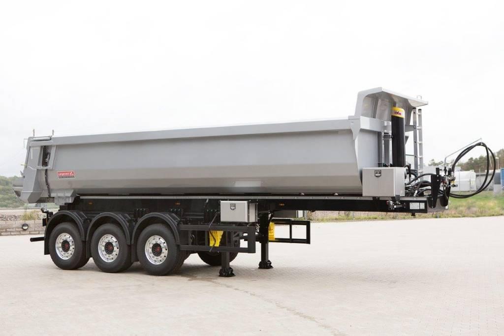 Langendorf - Fabriksny 24 kubiks tipptrailer, Sora- ja kippiperävaunut, Kuljetuskalusto